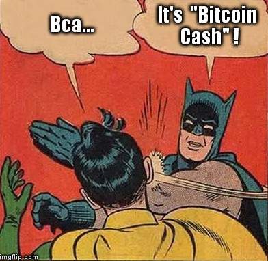 Meme s Batmanen: Bcash? Je to Bitcoin Cash!