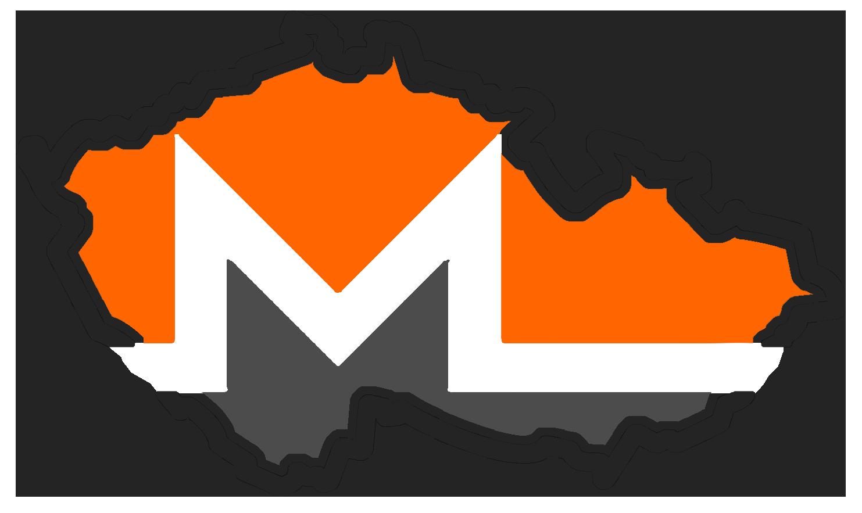 Logo prvního českého těžařského poolu zaměřeného na Monero - BohemianPool