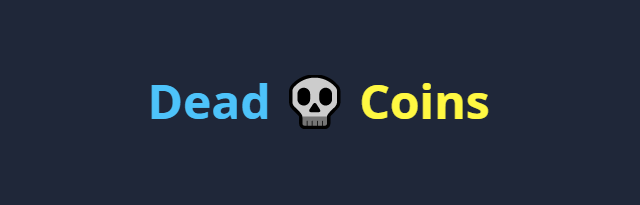 Logo webu DeadCoins.com