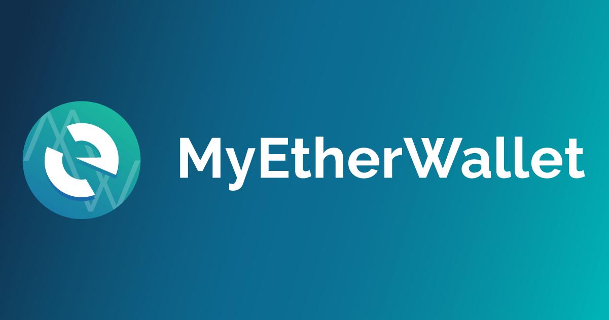 Logo ethereové peněženky MyEtherWallet