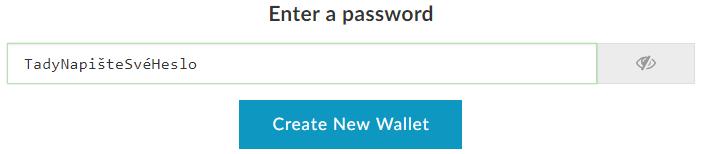 Tady napište své heslo