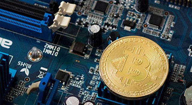 Ilustrační obrázek: Procesor těží coiny