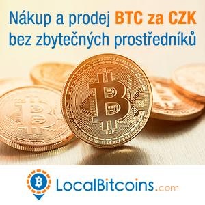 Nákup a prodej BTC za CZK na LocalBitcoins.com - bez zbytečných prostředníků (Banner 300x300)